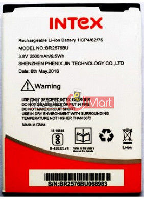 Mobile Battery For Intex Cloud Style 4G
