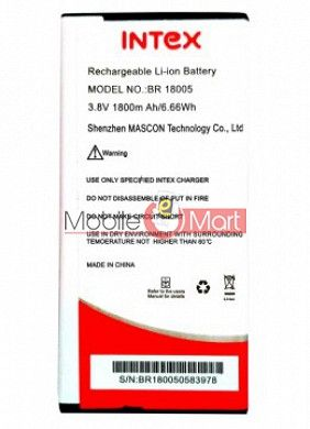 Mobile Battery For Intex Turbo S1 Plus