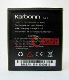 Mobile Battery For Karbonn A21