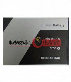 Mobile Battery For Lava Iris Alfa