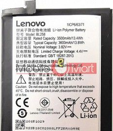 Mobile Battery For Lenovo Vibe X3