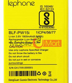 Mobile Battery For Lephone W15
