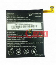 Mobile Battery For Micromax Canvas Selfie Lens Q345