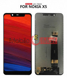 Lcd Display With Touch Screen Digitizer Panel For Nokia X5