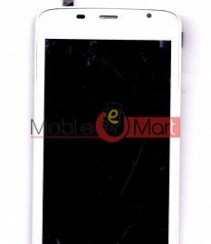 Lcd Display With Touch Screen Digitizer Panel For Spice Mi(504 Smart Flo Mettle 5X)