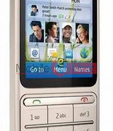 Lcd Display With Touch Screen Digitizer Panel For Nokia C3(01 64 MB RAM)