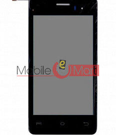 Lcd Display With Touch Screen Digitizer Panel For Lava Iris 406Q