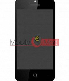 Lcd Display With Touch Screen Digitizer Panel For Intex Aqua Y2 Power