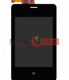 Lcd Display With Touch Screen Digitizer Panel For Nokia Asha 502 Dual SIM