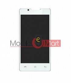 Lcd Display With Touch Screen Digitizer Panel For Lava Flair P1i