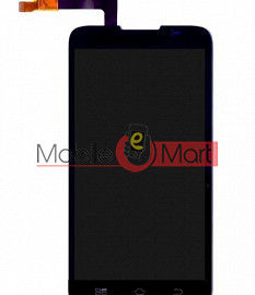 Lcd Display With Touch Screen Digitizer Panel For Spice Mi(496 Spice Coolpad 2)