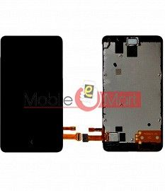 Lcd Display With Touch Screen Digitizer Panel For Nokia A110