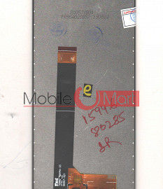 Lcd Display With Touch Screen Digitizer Panel For Mobiistar X1 Notch