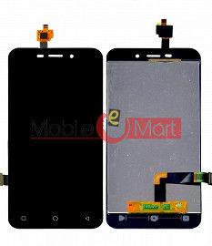 Lcd Display With Touch Screen Digitizer Panel For Karbonn Titanium Vista 4G - Black