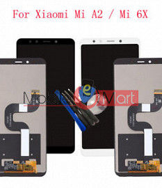 Lcd Display With Touch Screen Digitizer Panel For Xiaomi Mi 6X (Black)