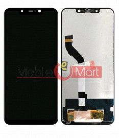 Lcd Display With Touch Screen Digitizer Panel For Xiaomi Pocophone F1 - Black