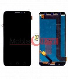 Lcd Display With Touch Screen Digitizer Panel Combo Folder Glass For Panasonic Eluga L2 - Black