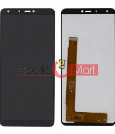 Lcd Display With Touch Screen Digitizer Panel Combo Folder Glass For Panasonic Eluga Ray 600 (Black)