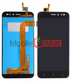 Lcd Display With Touch Screen Digitizer Panel Combo Folder Glass For IVooMi Me 3 IV 501 (Black)