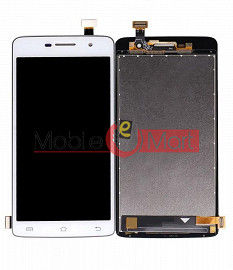 Lcd Display With Touch Screen Digitizer Panel Combo Folder Glass For Vivo Y21 (Black)