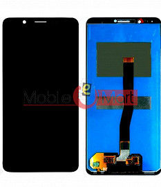 Lcd Display With Touch Screen Digitizer Panel Combo Folder Glass For Vivo V7 - Black
