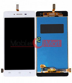 Lcd Display With Touch Screen Digitizer Panel Combo Folder Glass For VIVO Y51 (Black)