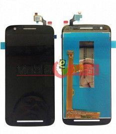Lcd Display With Touch Screen Digitizer Panel Combo Folder Glass For Moto E3 (Black)