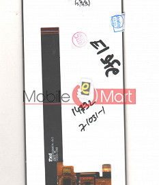 Lcd Display With Touch Screen Digitizer Panel Combo Folder Glass For Mobiistar C2 (Black)