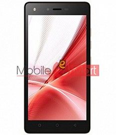 Lcd Display With Touch Screen Digitizer Panel Combo Folder Glass For Itel It1512 (Black)