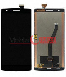 Lcd Display With Touch Screen Digitizer Panel Combo Folder Glass For OnePlus One (Black)