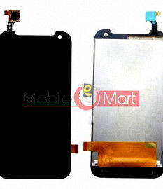Lcd Display With Touch Screen Digitizer Panel Combo Folder Glass For HTC Desire 310 (Black)