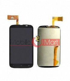Lcd Display With Touch Screen Digitizer Panel Combo Folder Glass For HTC Desire V T328w (Black)