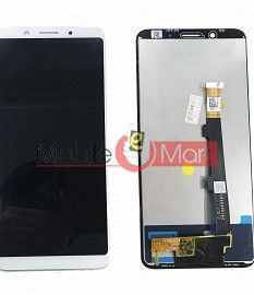 Lcd Display With Touch Screen Digitizer Panel Combo Folder Glass For Oppo F5 (Black)