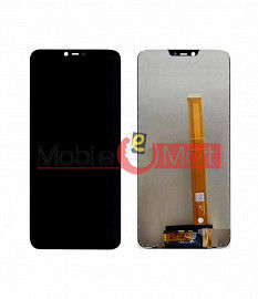Lcd Display With Touch Screen Digitizer Panel For Oppo A3s (Black)