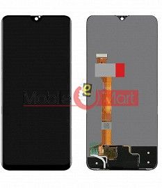 Lcd Display With Touch Screen Digitizer Panel Combo Folder Glass For OPPO F9 Pro (Black)