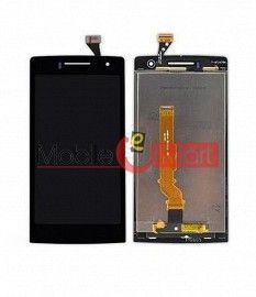 Lcd Display With Touch Screen Digitizer Panel Combo Folder Glass For OPPO Find 7 mini (Black)