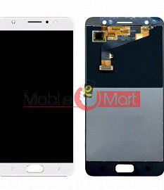 Lcd Display With Touch Screen Digitizer Panel Combo Folder Glass For Tecno i3 Pro (Black)