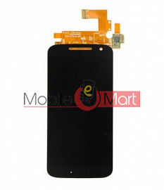 Lcd Display With Touch Screen Digitizer Panel Combo Folder Glass For Motorola Moto G4 (Black)