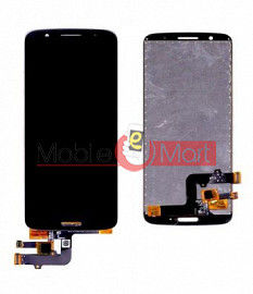Lcd Display With Touch Screen Digitizer Panel Combo Folder Glass For Motorola Moto G6 (Black)
