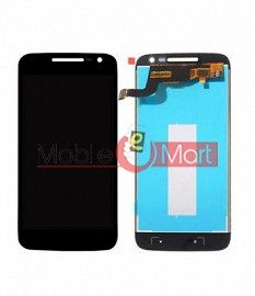 Lcd Display With Touch Screen Digitizer Panel Combo Folder Glass For Motorola Moto G4 Play (Black)