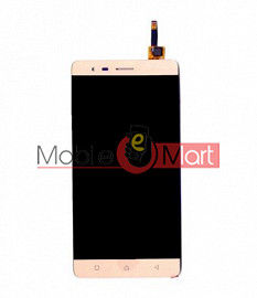Lcd Display With Touch Screen Digitizer Panel Combo Folder Glass For Lenovo K5 Note (Black)