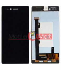 Lcd Display With Touch Screen Digitizer Panel Combo Folder Glass For Lenovo Vibe Shot Z90a40 (Black)