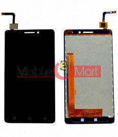 Lcd Display With Touch Screen Digitizer Panel Combo Folder Glass For Lenovo Vibe P1m (Black)