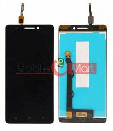 Lcd Display With Touch Screen Digitizer Panel Combo Folder Glass For Lenovo K3 Note (Black)