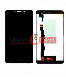 Lcd Display With Touch Screen Digitizer Panel Combo Folder Glass For Lenovo A7700 (Black)