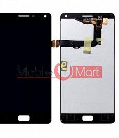 Lcd Display With Touch Screen Digitizer Panel Combo Folder Glass For Lenovo Vibe P1 (Black)
