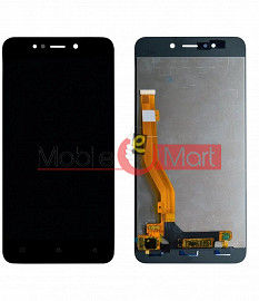 Lcd Display With Touch Screen Digitizer Panel Combo Folder Glass For Gionee X1S (Black)