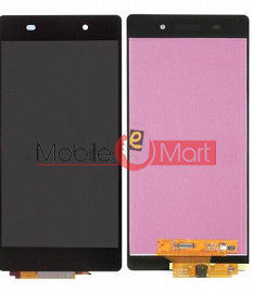 Lcd Display With Touch Screen Digitizer Panel Combo Folder Glass For Sony Xperia Z3 (black)