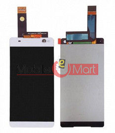 Lcd Display With Touch Screen Digitizer Panel Combo Folder Glass For Sony Xperia C5 (Black)