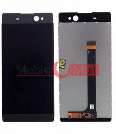 Lcd Display With Touch Screen Digitizer Panel Combo Folder Glass For Sony Xperia XA Ultra (Black)